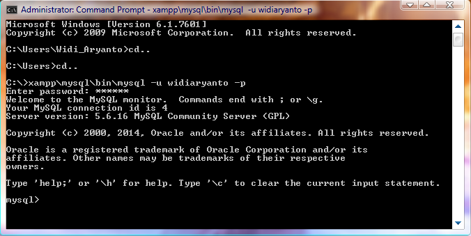 Cara Membuat Hak Akses Privileges Pada Mysql I T Technical Support